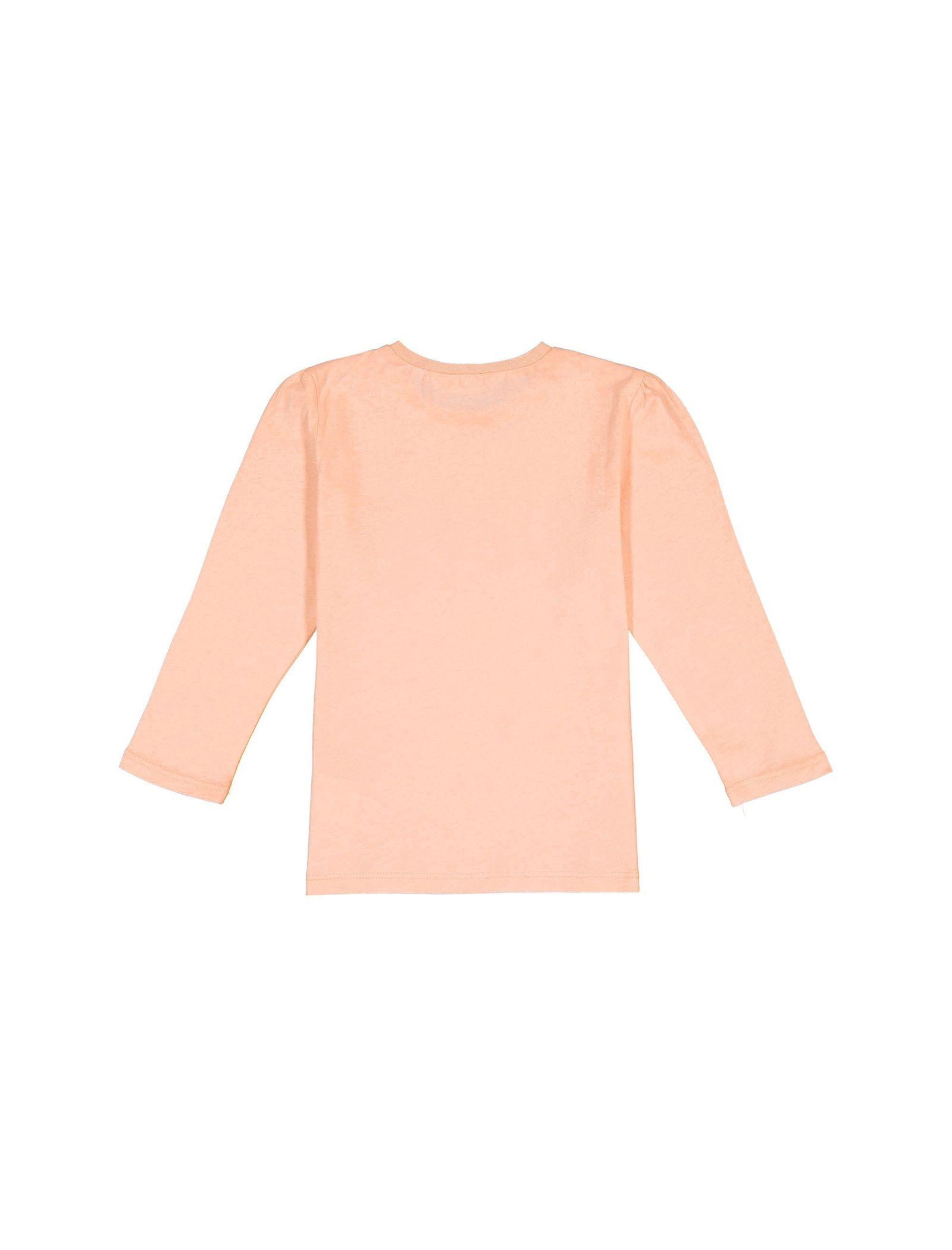 تی شرت نخی آستین بلند دخترانه - کوتون - صورتي - 2
