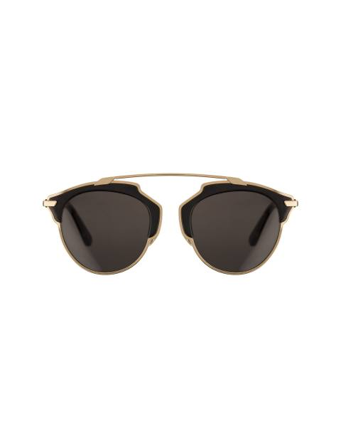 عینک آفتابی پنتوس زنانه - دیور - مشکي و طلايي - 1