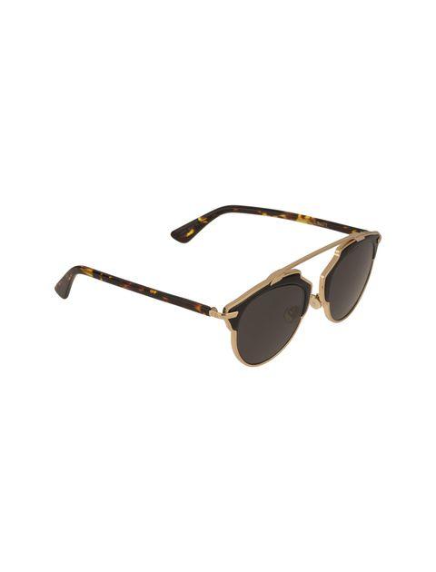 عینک آفتابی پنتوس زنانه - دیور - مشکي و طلايي - 2