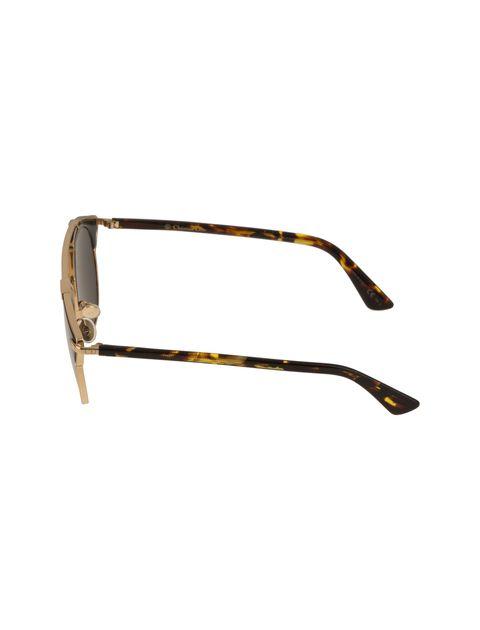 عینک آفتابی پنتوس زنانه - دیور - مشکي و طلايي - 3