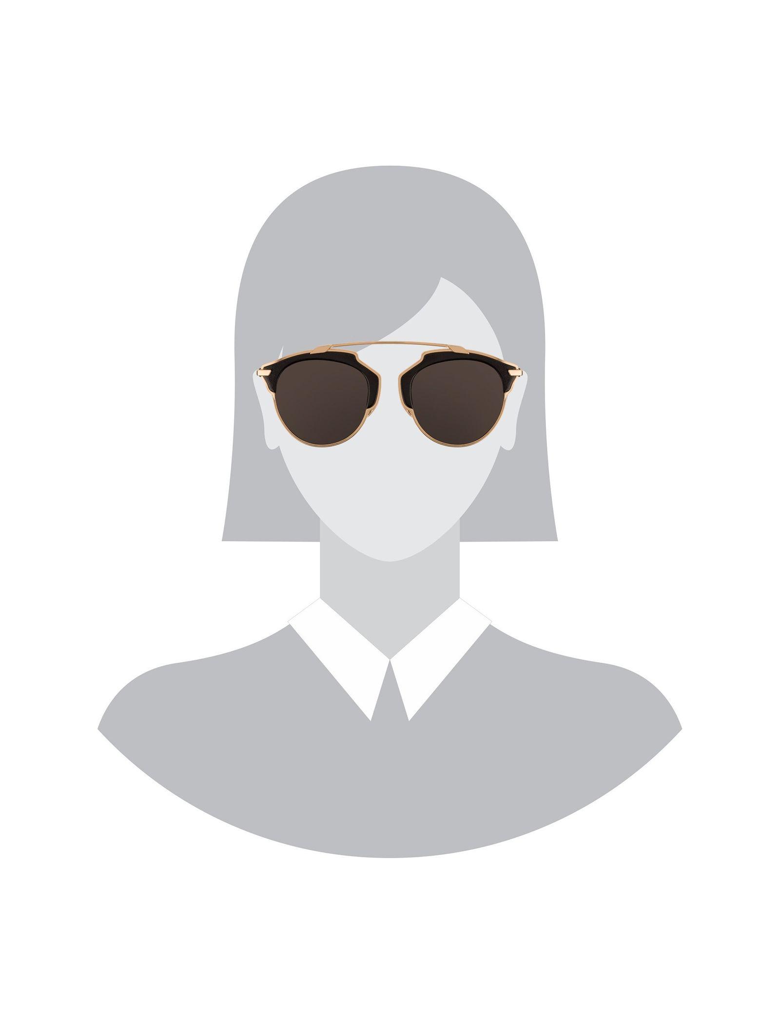 عینک آفتابی پنتوس زنانه - دیور - مشکي و طلايي - 5