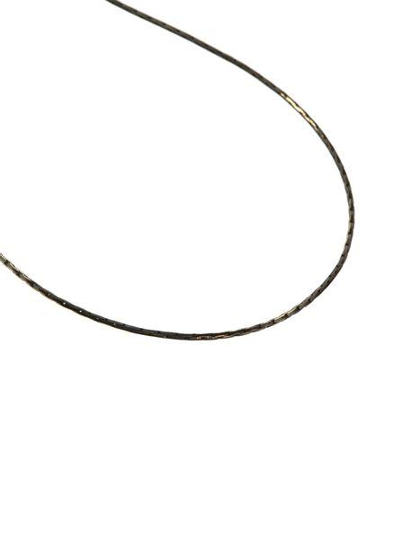 گردنبند آویز زنانه - طوسي طلايي - 4