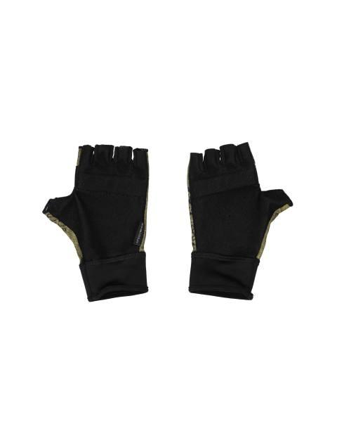 دستکش ورزشی بزرگسال - ریباک - مشکي و زيتوني - 3