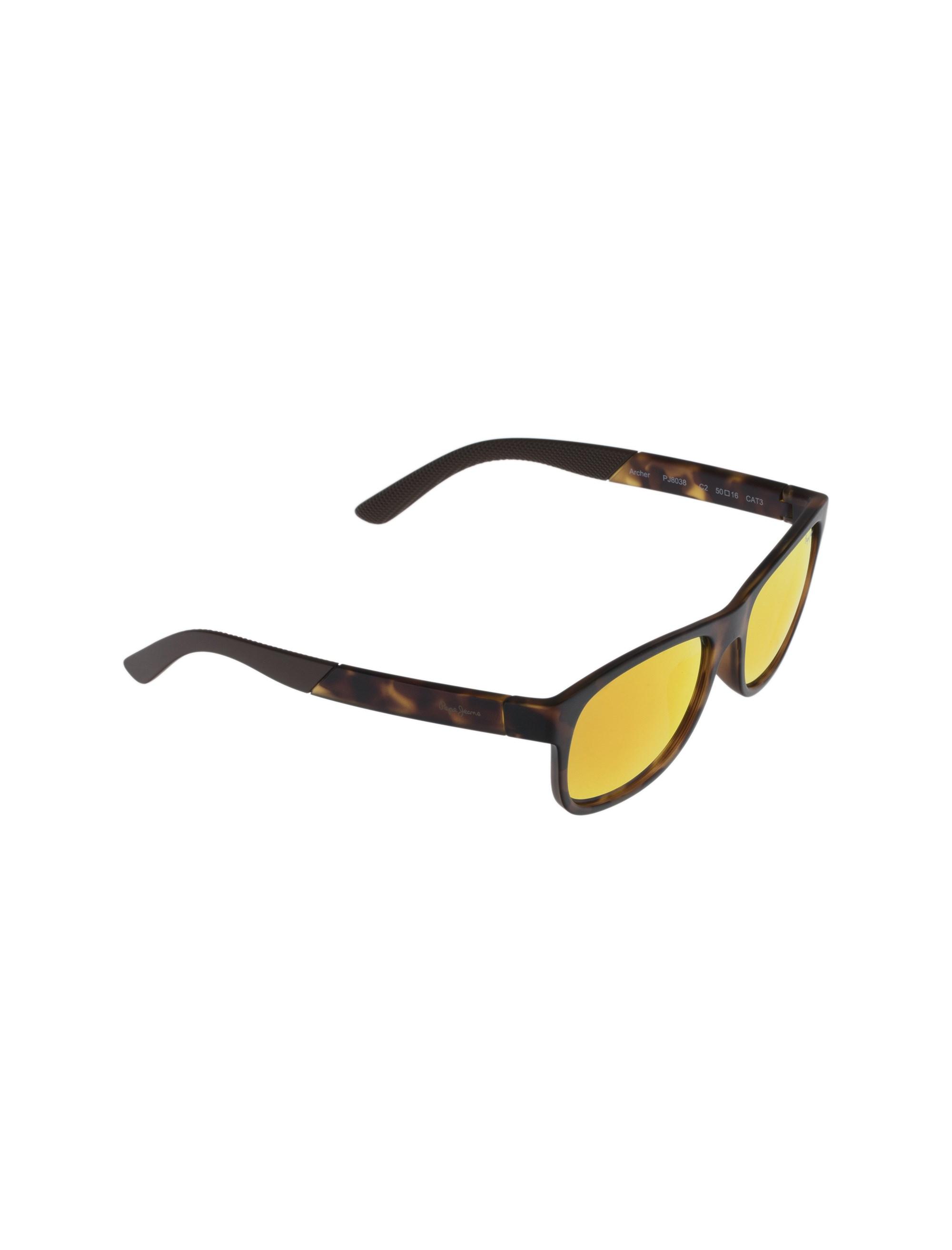 عینک آفتابی ویفرر زنانه - پپه جینز - قهوه اي لاک پشتي - 2