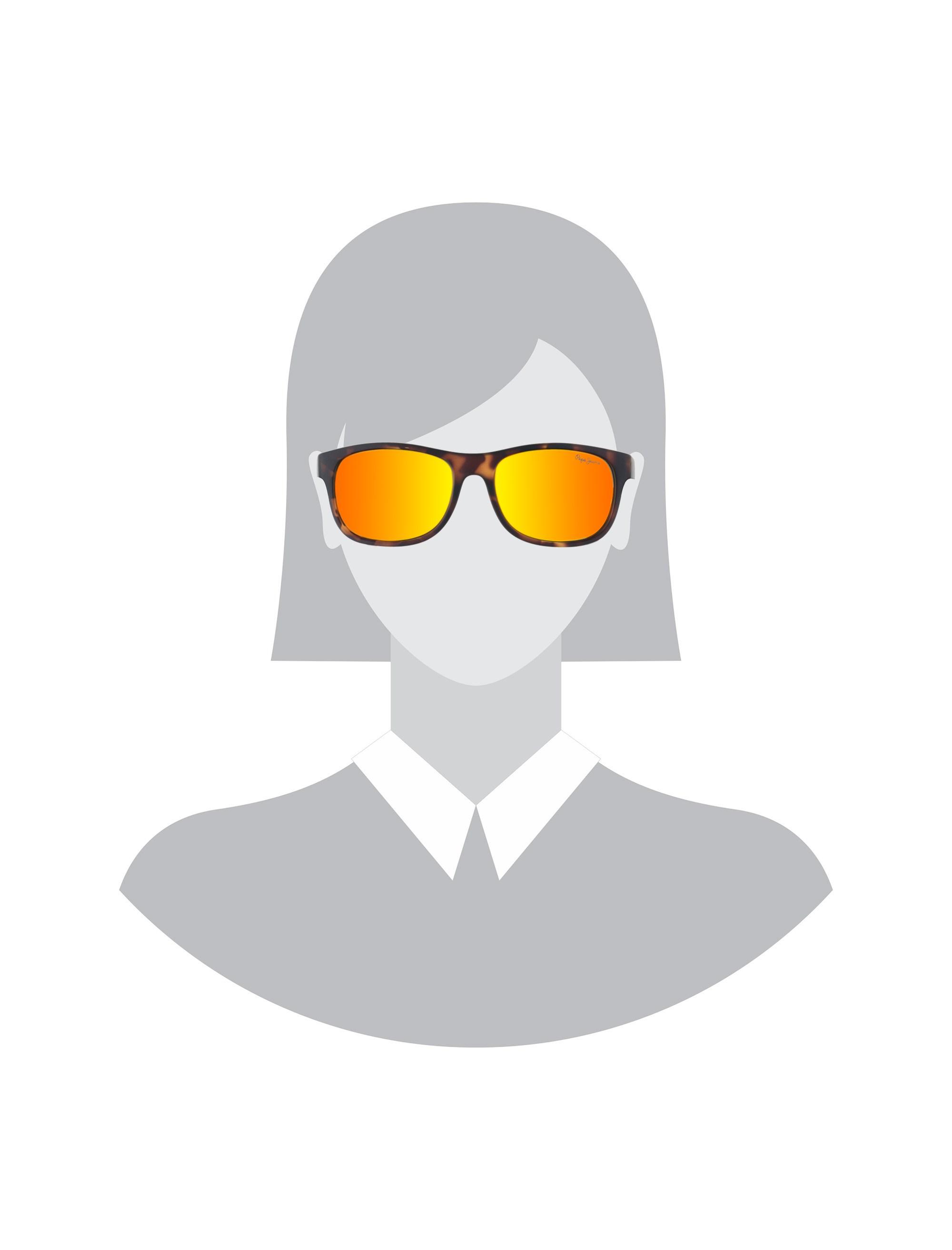 عینک آفتابی ویفرر زنانه - پپه جینز - قهوه اي لاک پشتي - 5
