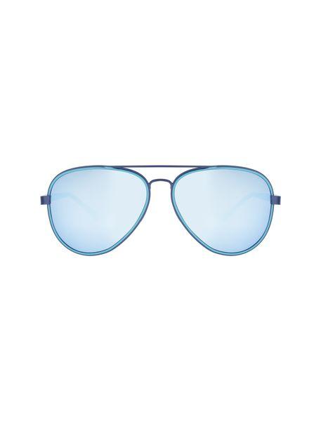 عینک آفتابی خلبانی زنانه - آبي روشن - 1