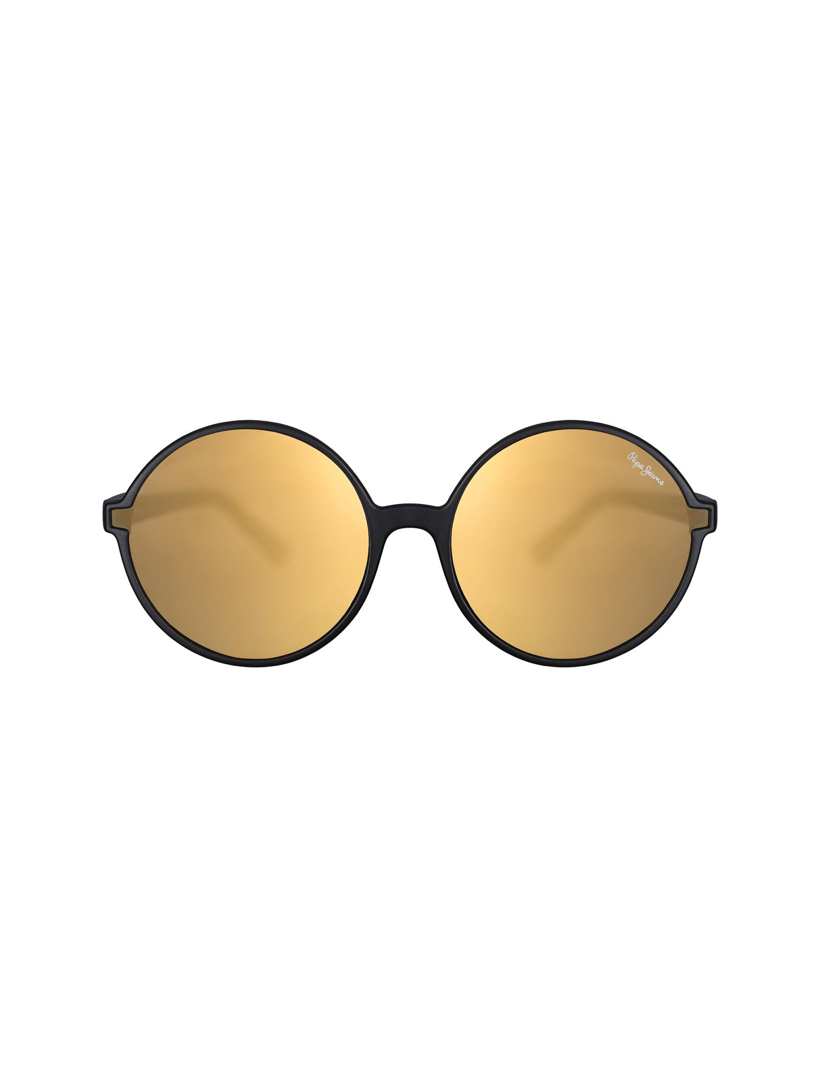 عینک آفتابی گرد زنانه - پپه جینز - زغالي - 1
