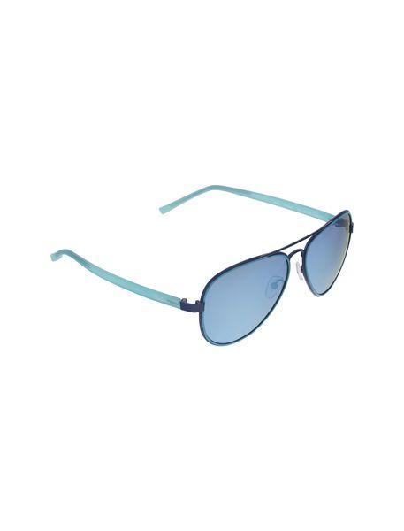 عینک آفتابی خلبانی زنانه - آبي روشن - 2