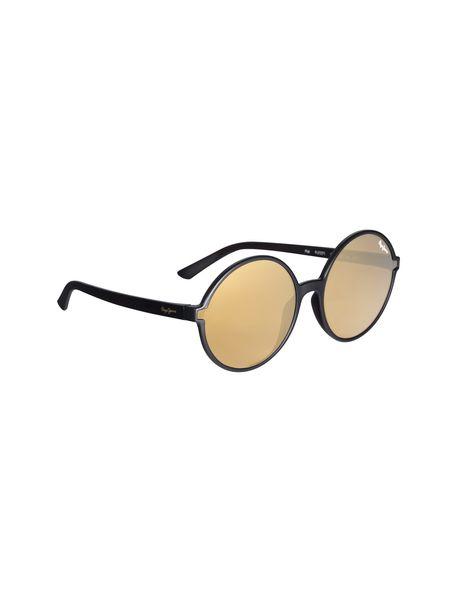 عینک آفتابی گرد زنانه - زغالي - 2