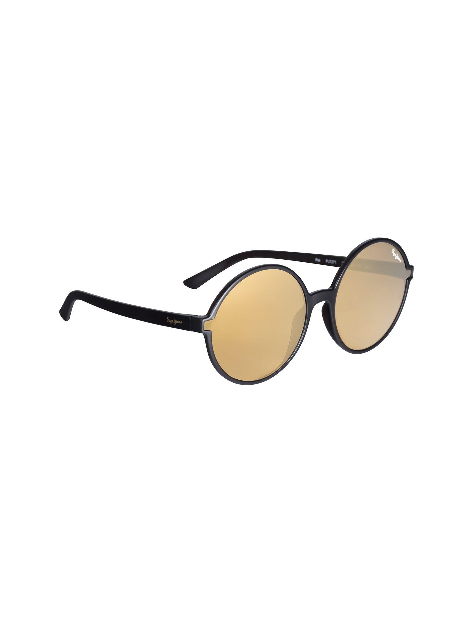 عینک آفتابی گرد زنانه - پپه جینز - زغالي - 2