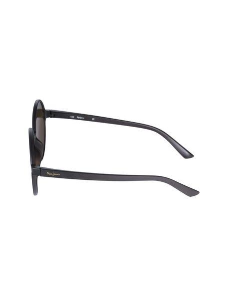 عینک آفتابی گرد زنانه - زغالي - 3