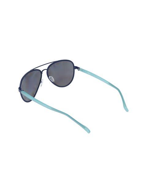 عینک آفتابی خلبانی زنانه - آبي روشن - 4