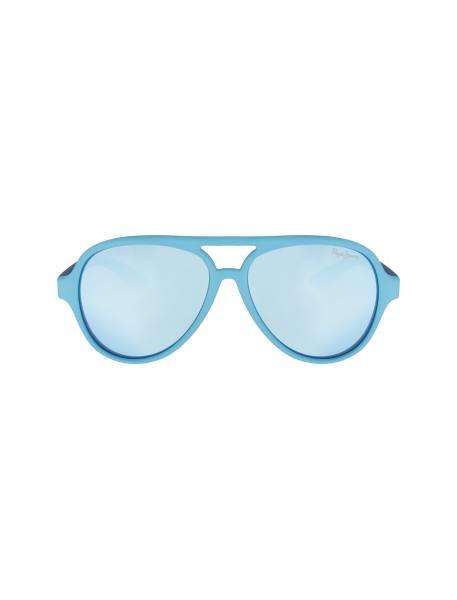 عینک آفتابی خلبانی بچگانه - آبي روشن - 1