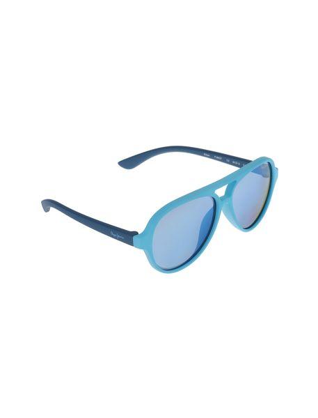 عینک آفتابی خلبانی بچگانه - آبي روشن - 2