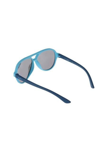 عینک آفتابی خلبانی بچگانه - آبي روشن - 4