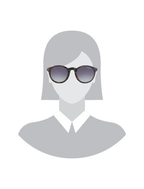 عینک آفتابی پنتوس بچگانه - پپه جینز - قهوه اي - 5