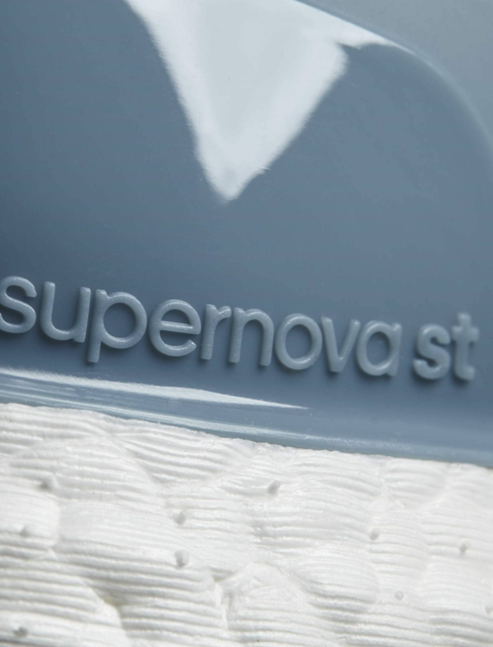 کفش دویدن بندی زنانه Supernova ST - آدیداس - آبي طوسي - 6