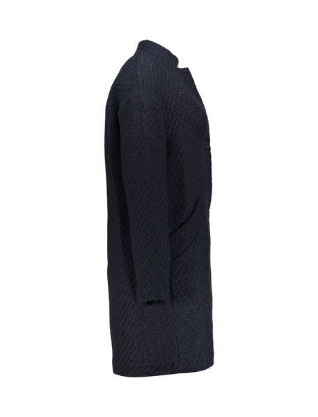 کت بلند زنانه - سرمه اي تيره - 3