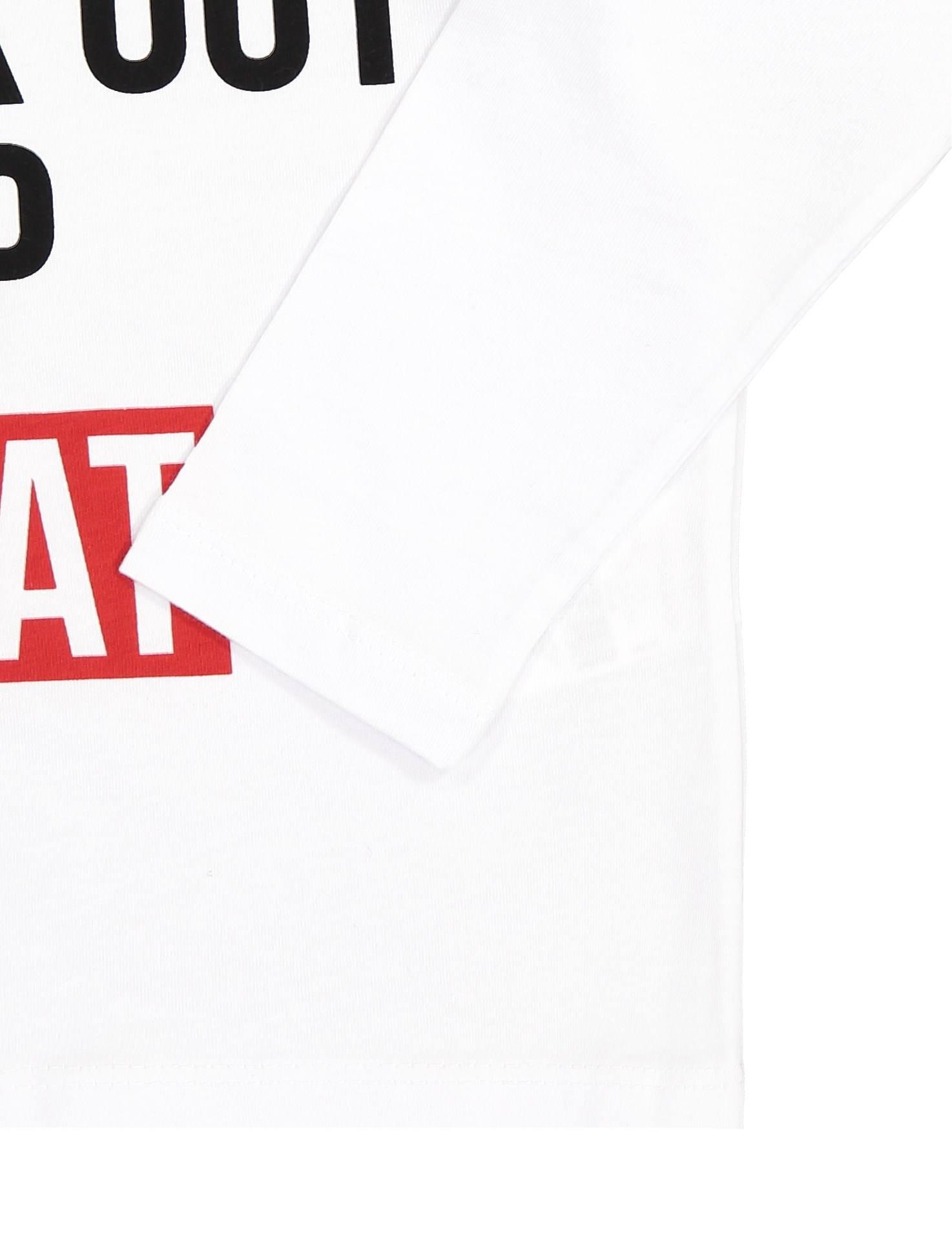 تی شرت نخی آستین بلند دخترانه - کوتون - سفيد - 3