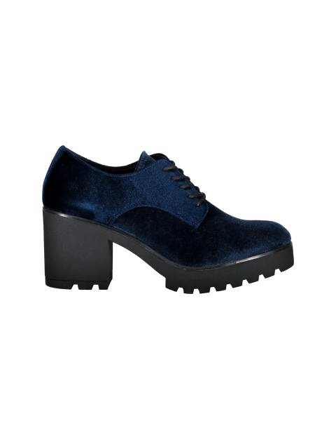 کفش پاشنه بلند زنانه - سرمه اي - 1
