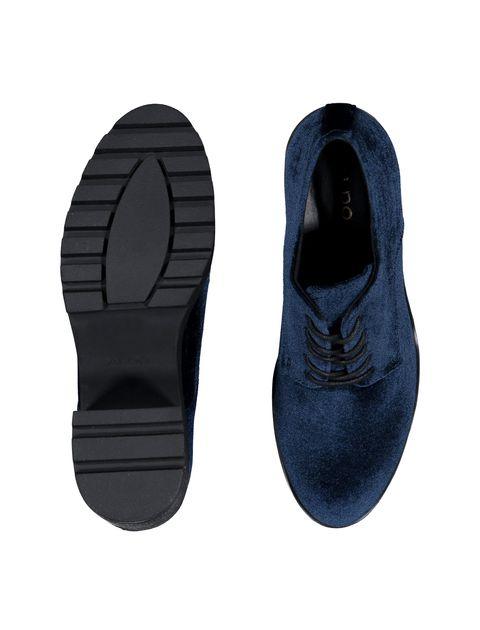 کفش پاشنه بلند زنانه - سرمه اي - 2