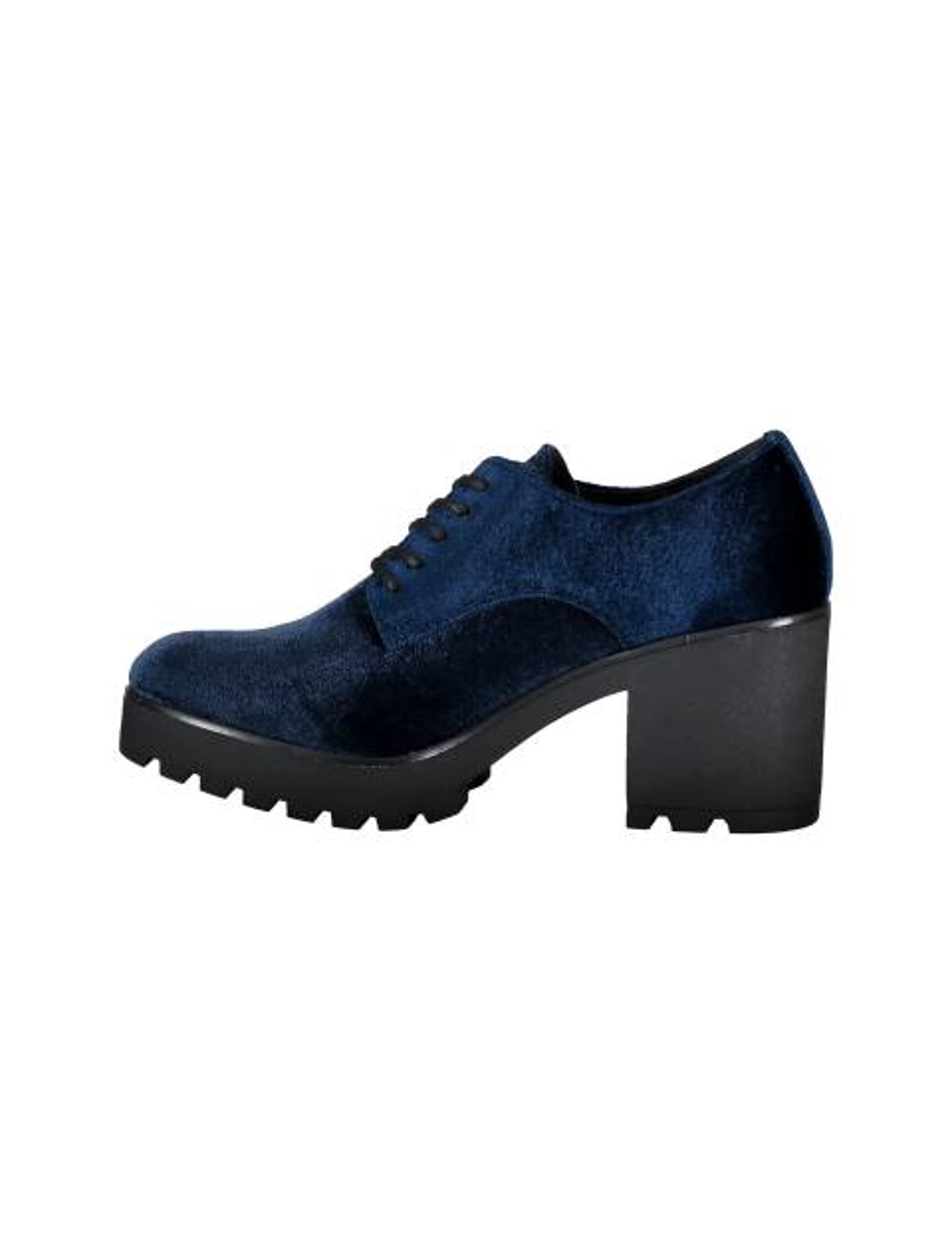 کفش پاشنه بلند زنانه - سرمه اي - 3