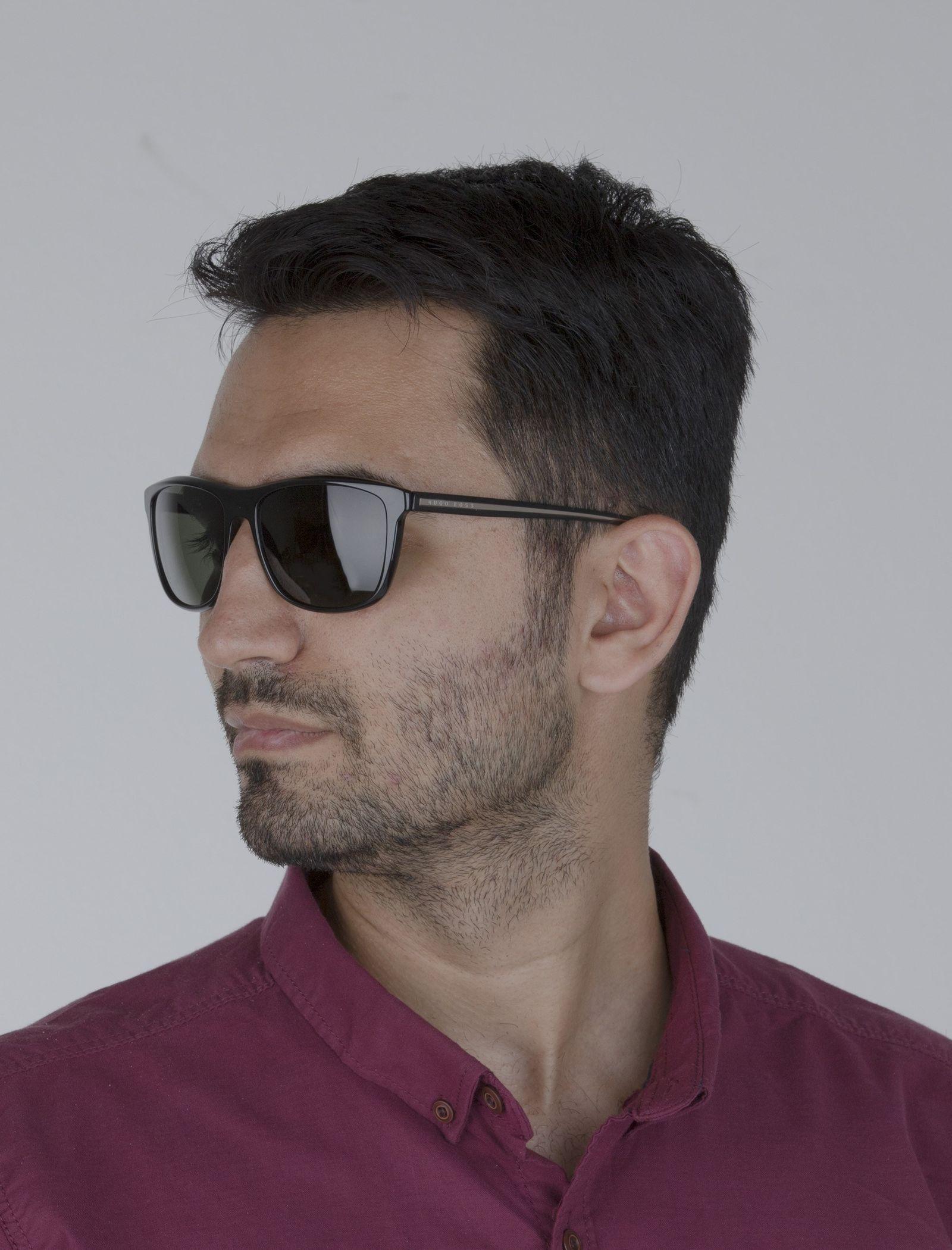 عینک آفتابی ویفرر مردانه - باس - مشکي - 2