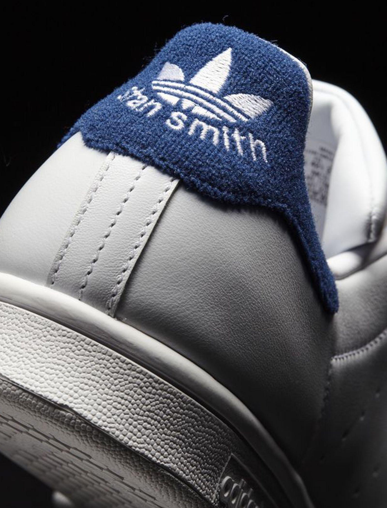 کتانی بندی مردانه Stan Smith - آدیداس - سفيد - 6