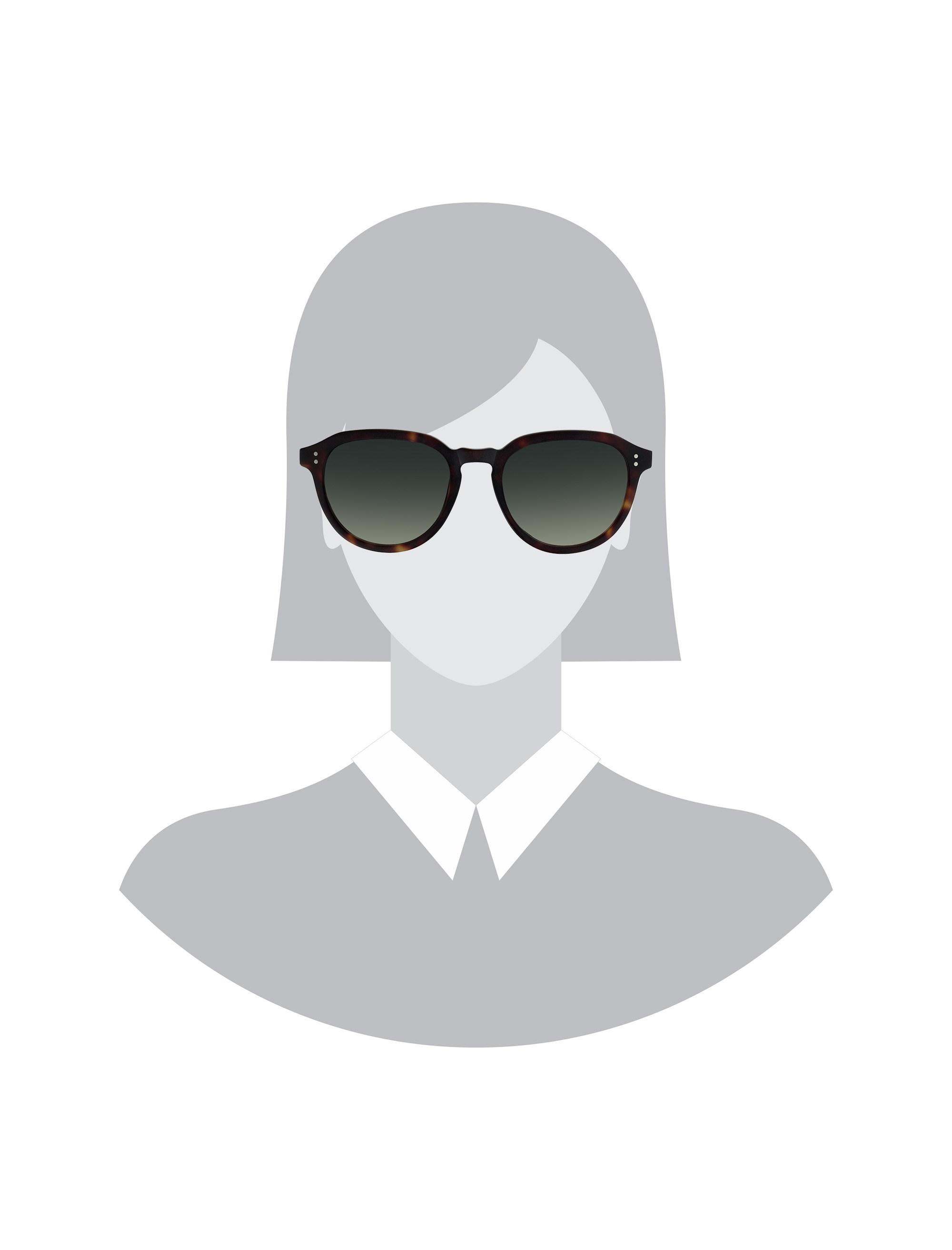 عینک آفتابی پنتوس زنانه - هکت - قهوه اي    - 4