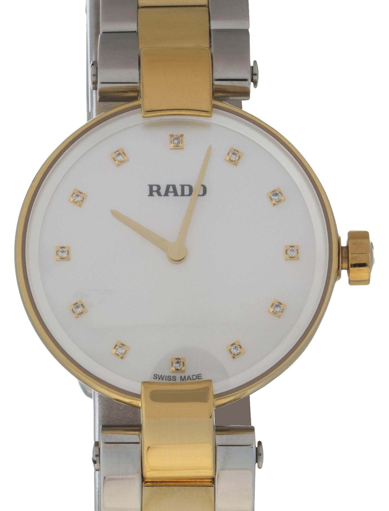 ساعت مچی عقربه ای زنانه - رادو - نقره اي و طلايي - 1