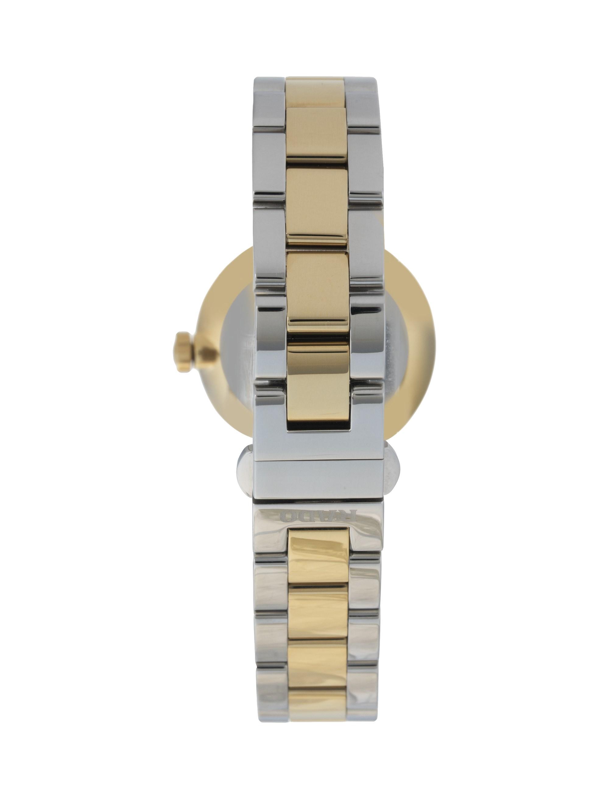 ساعت مچی عقربه ای زنانه - رادو - نقره اي و طلايي - 3