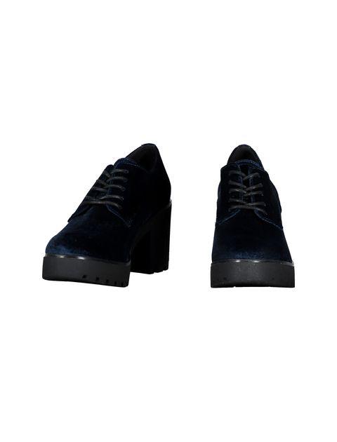 کفش پاشنه بلند زنانه - سرمه اي - 4