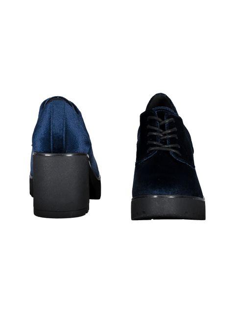 کفش پاشنه بلند زنانه - سرمه اي - 5