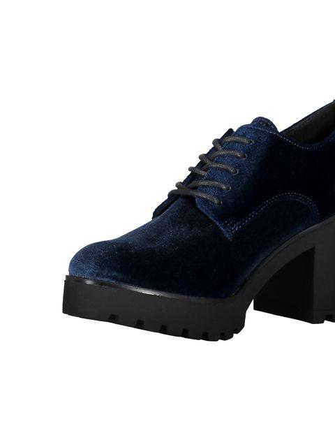 کفش پاشنه بلند زنانه - سرمه اي - 6