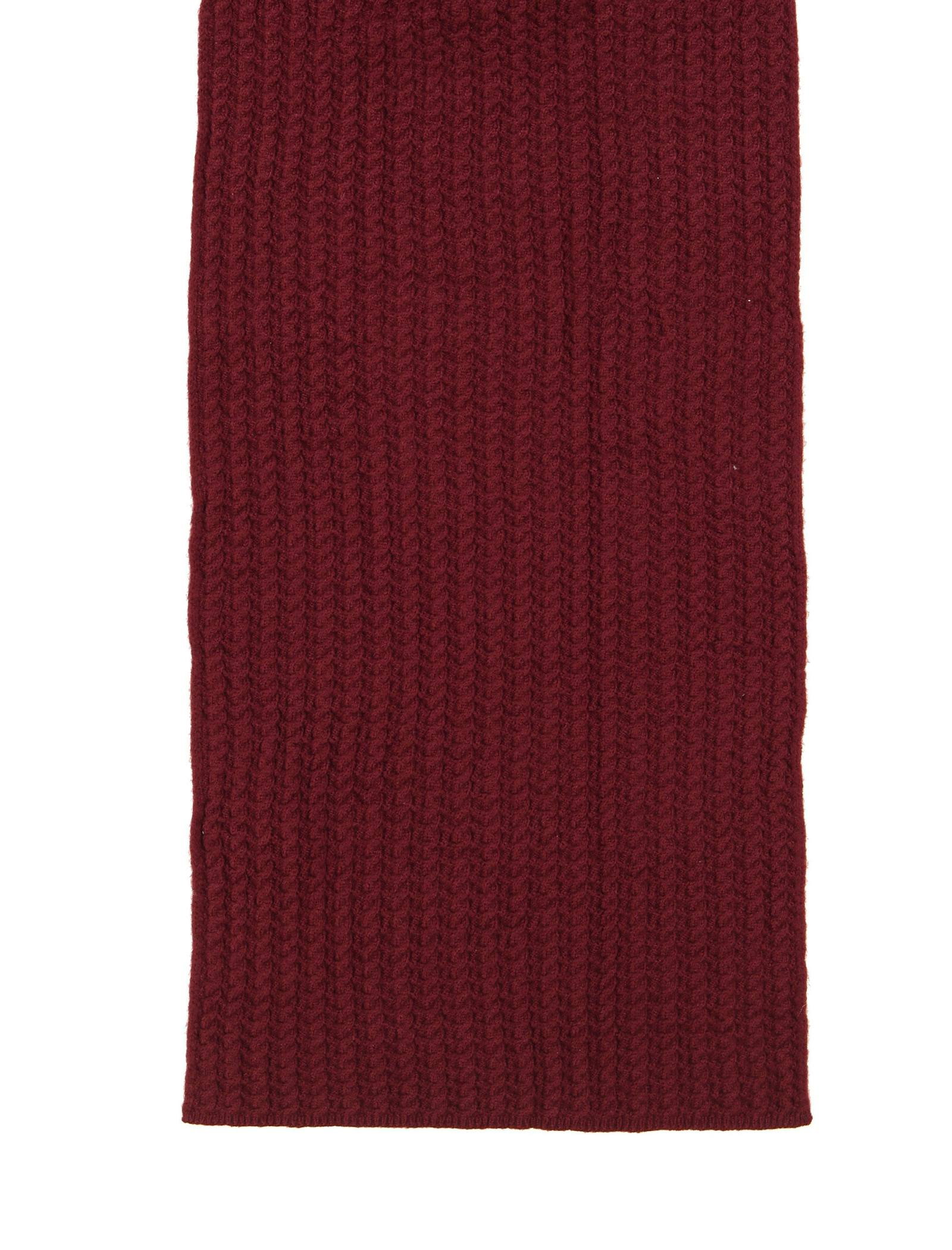 شال گردن ساده زنانه - دفکتو - زرشکي - 1