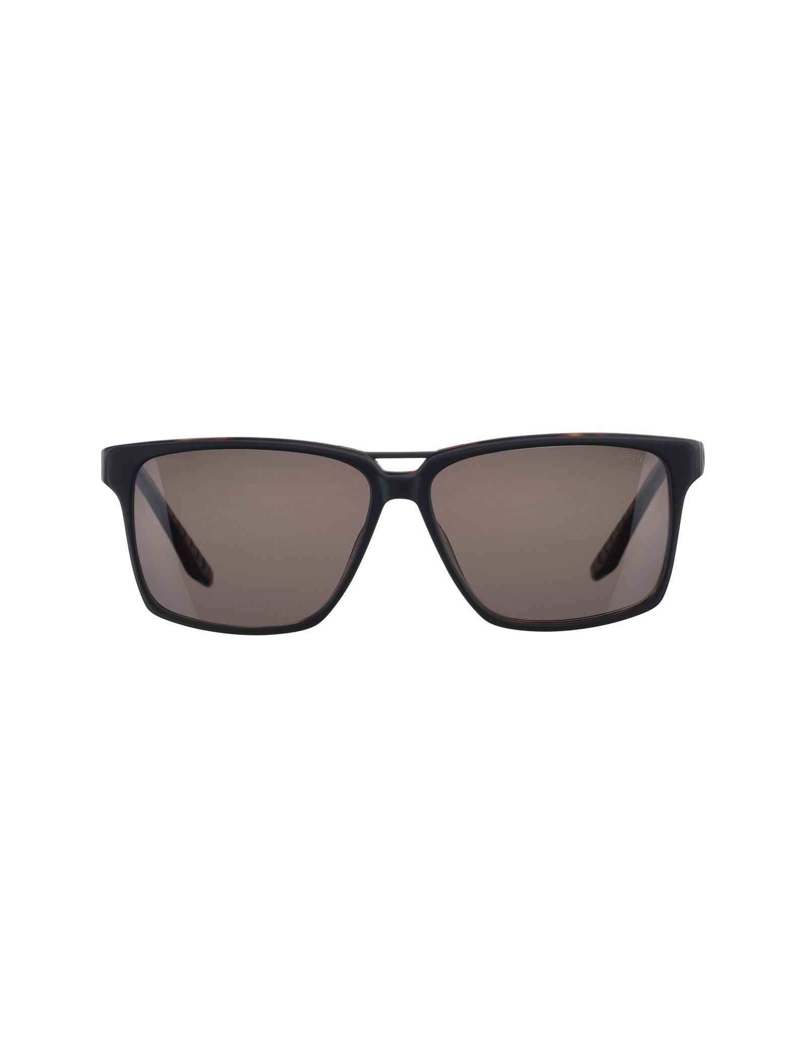 عینک آفتابی ویفرر مردانه - اسپاین - مشکي و قهوه اي - 1