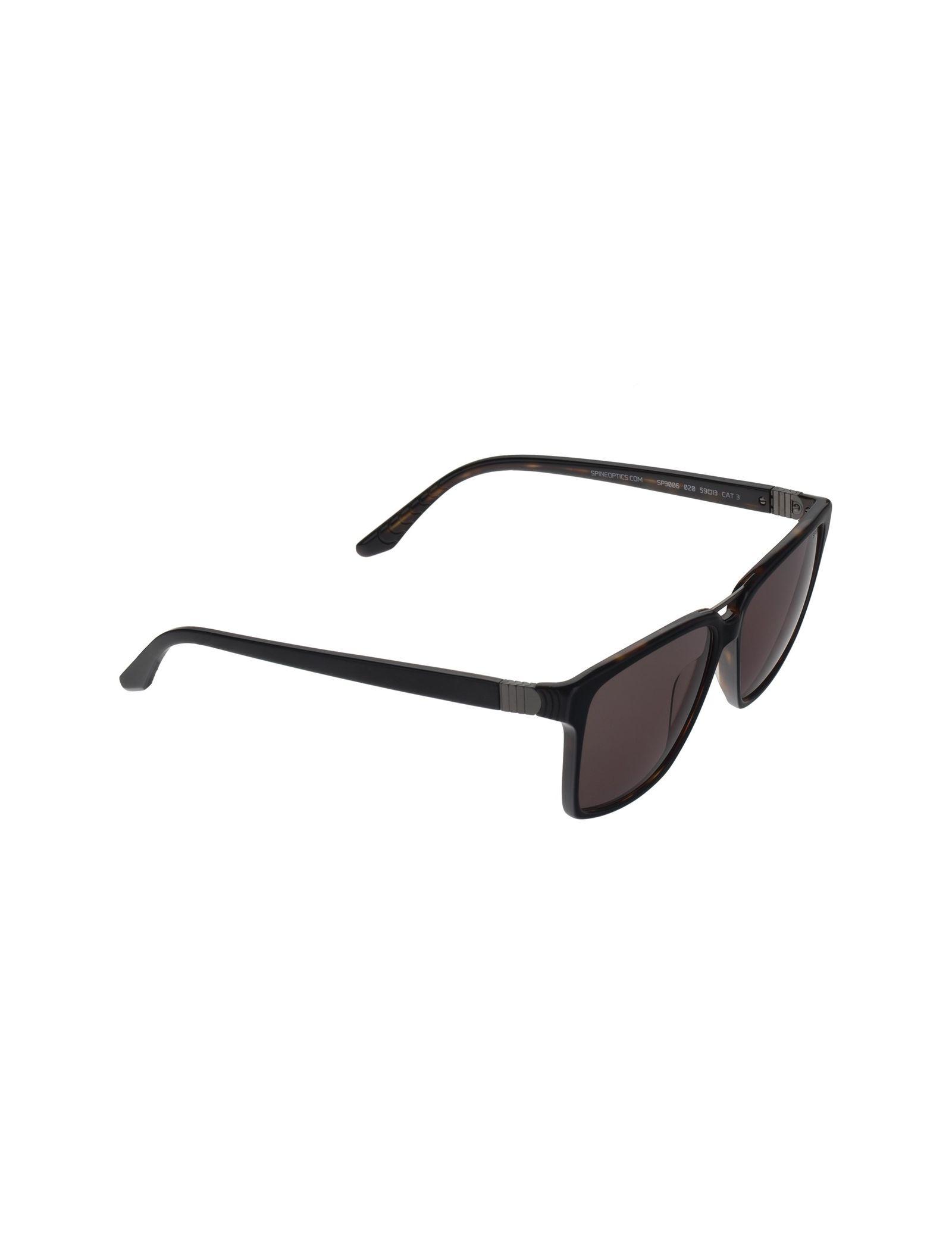 عینک آفتابی ویفرر مردانه - اسپاین - مشکي و قهوه اي - 2