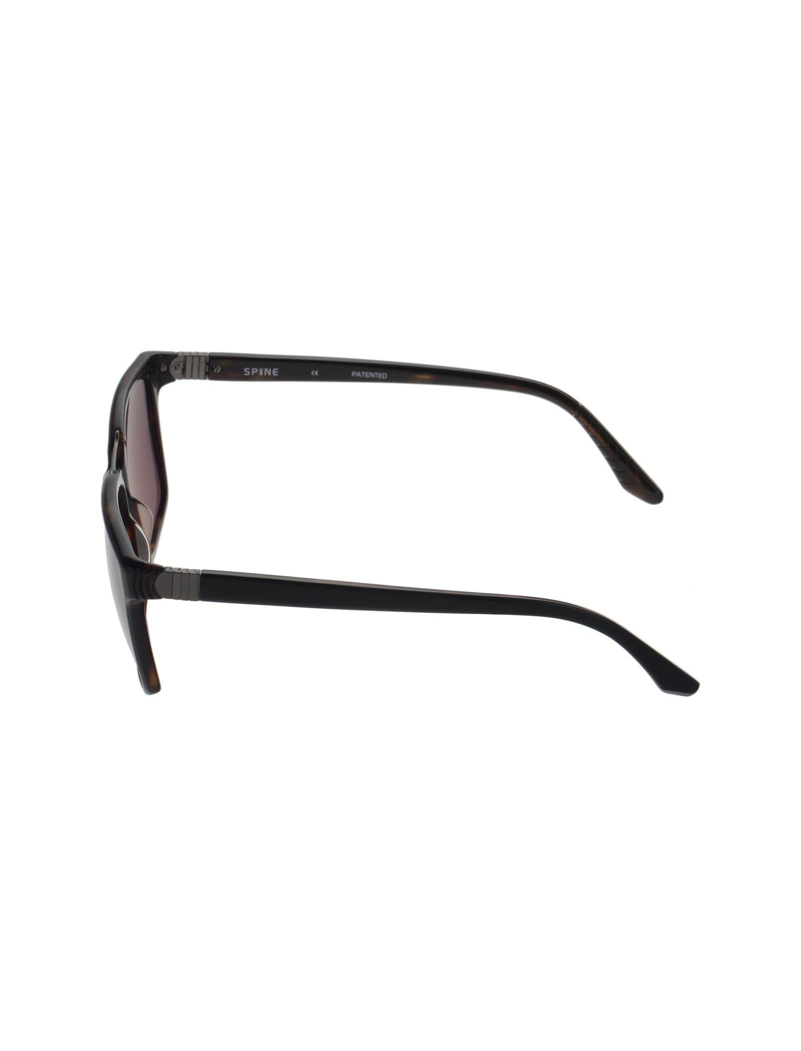 عینک آفتابی ویفرر مردانه - اسپاین - مشکي و قهوه اي - 3