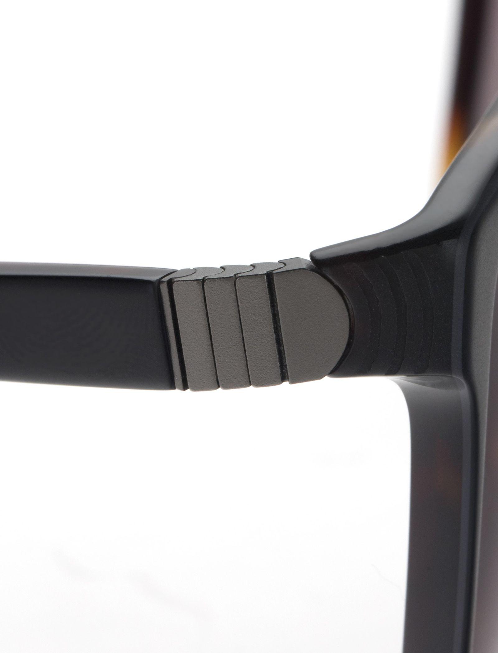 عینک آفتابی ویفرر مردانه - اسپاین - مشکي و قهوه اي - 5