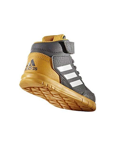 کفش دویدن چسبی بچگانه Altasport Mid EL I - آدیداس - طوسي - 3