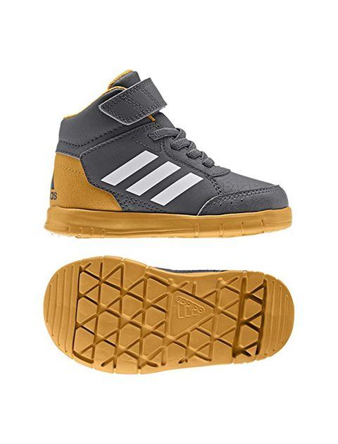 کفش دویدن چسبی بچگانه Altasport Mid EL I - آدیداس - طوسي - 5