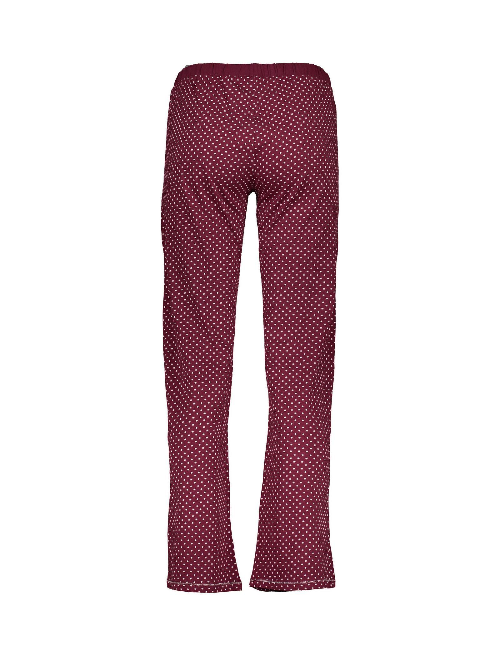 تی شرت و شلوار راحتی نخی زنانه - لانژ اند اسلیپ - قرمز - 7