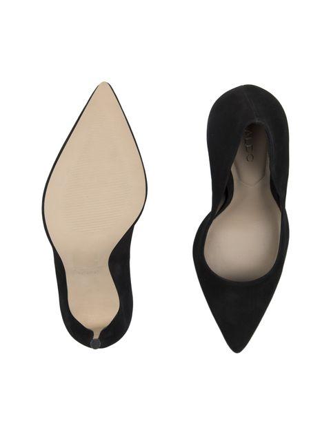 کفش پاشنه بلند جیر زنانه - مشکي - 2