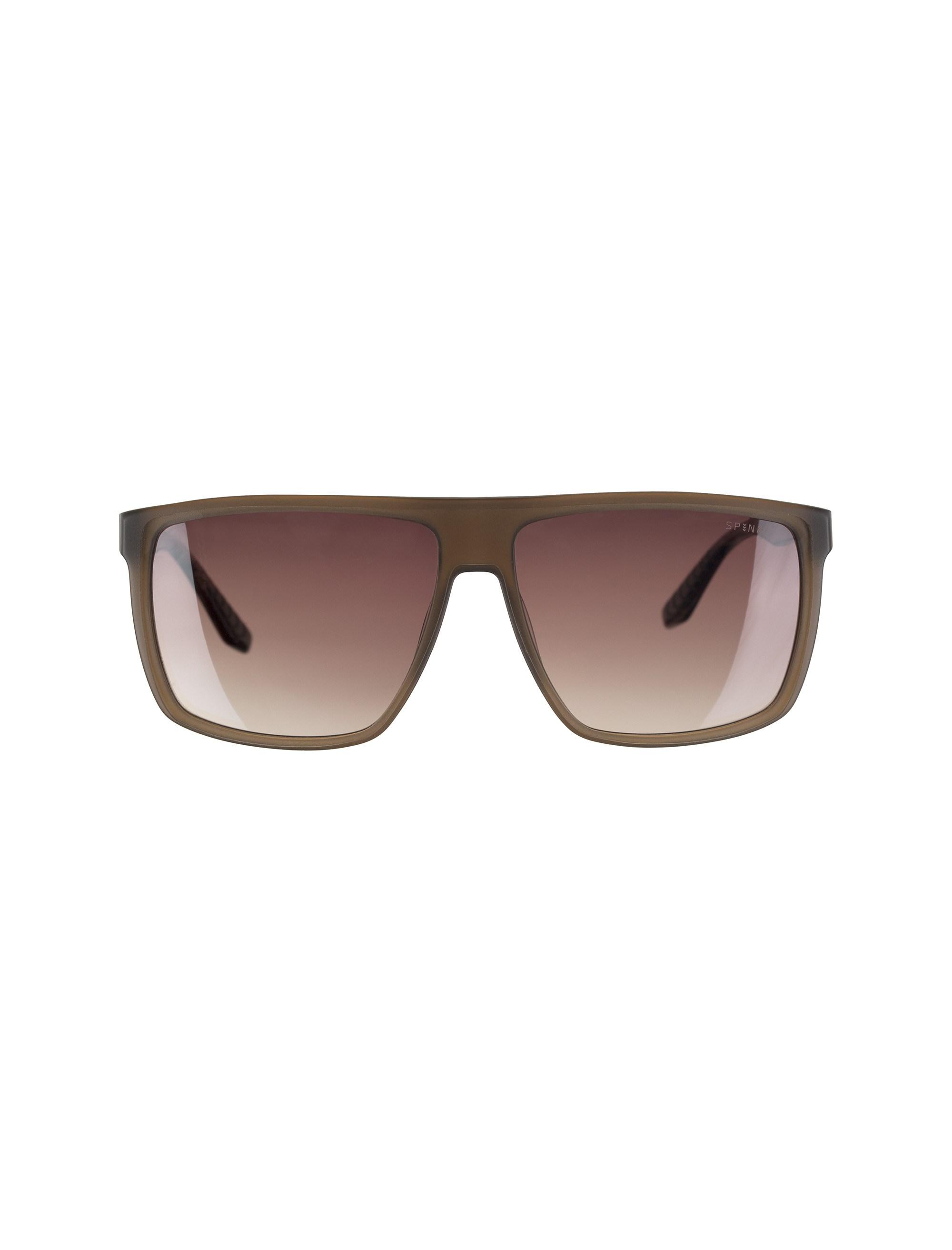 عینک آفتابی ویفرر مردانه - اسپاین - قهوه اي شفاف - 1