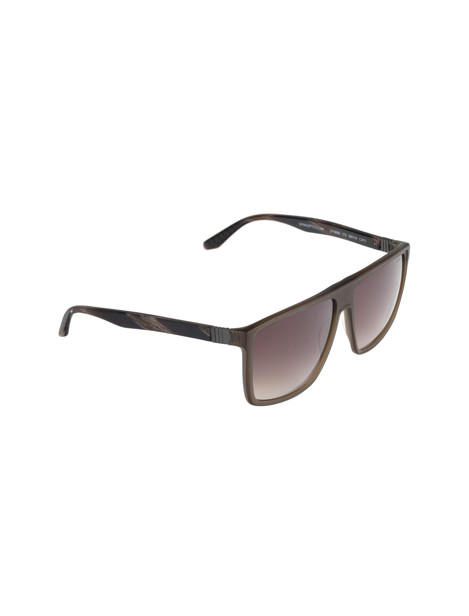 عینک آفتابی ویفرر مردانه - اسپاین - قهوه اي شفاف - 2