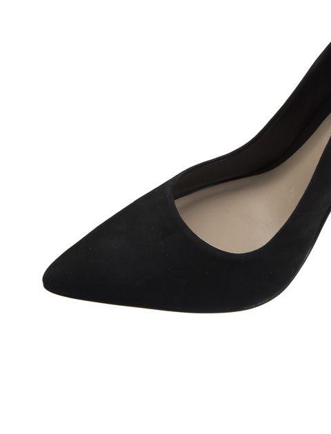 کفش پاشنه بلند جیر زنانه - مشکي - 6