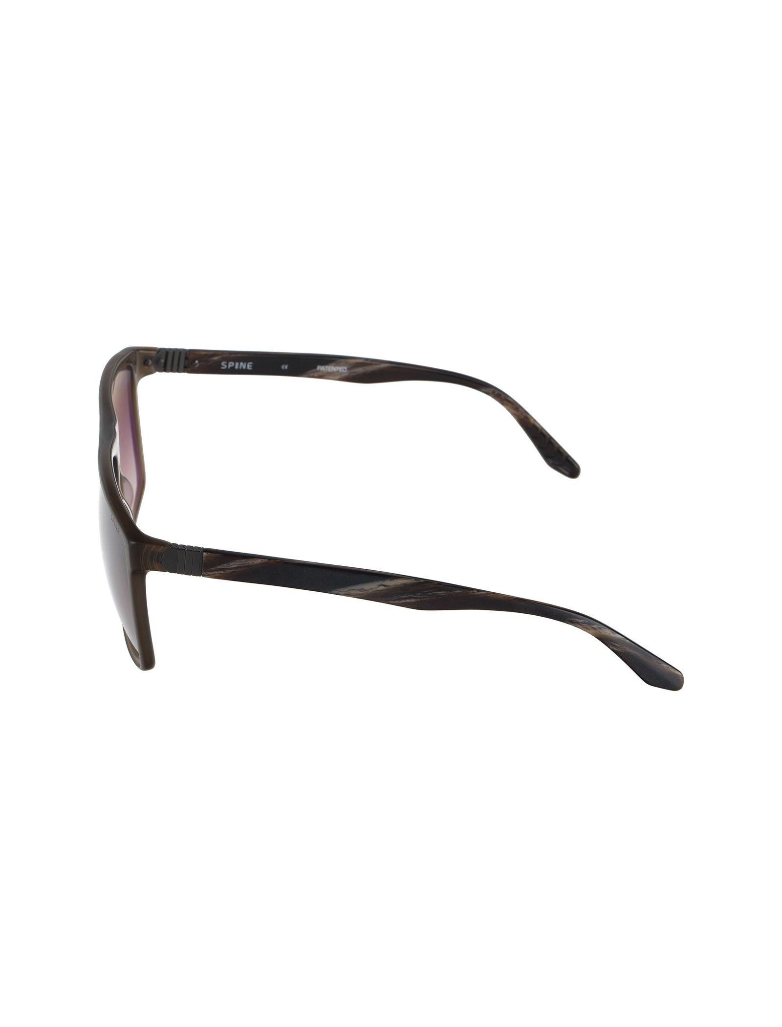 عینک آفتابی ویفرر مردانه - اسپاین - قهوه اي شفاف - 3