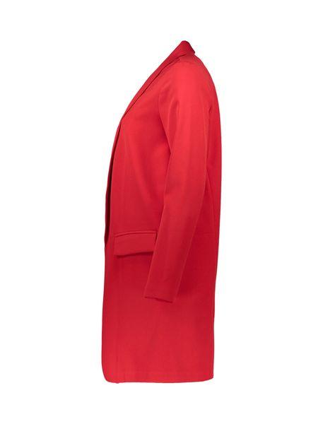 رویه کوتاه زنانه - قرمز - 3