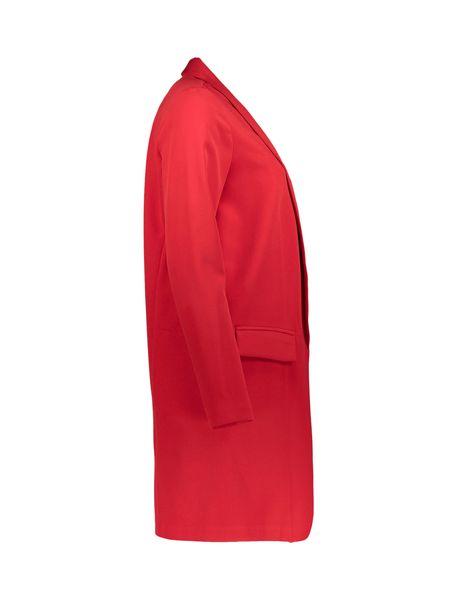 رویه کوتاه زنانه - قرمز - 4
