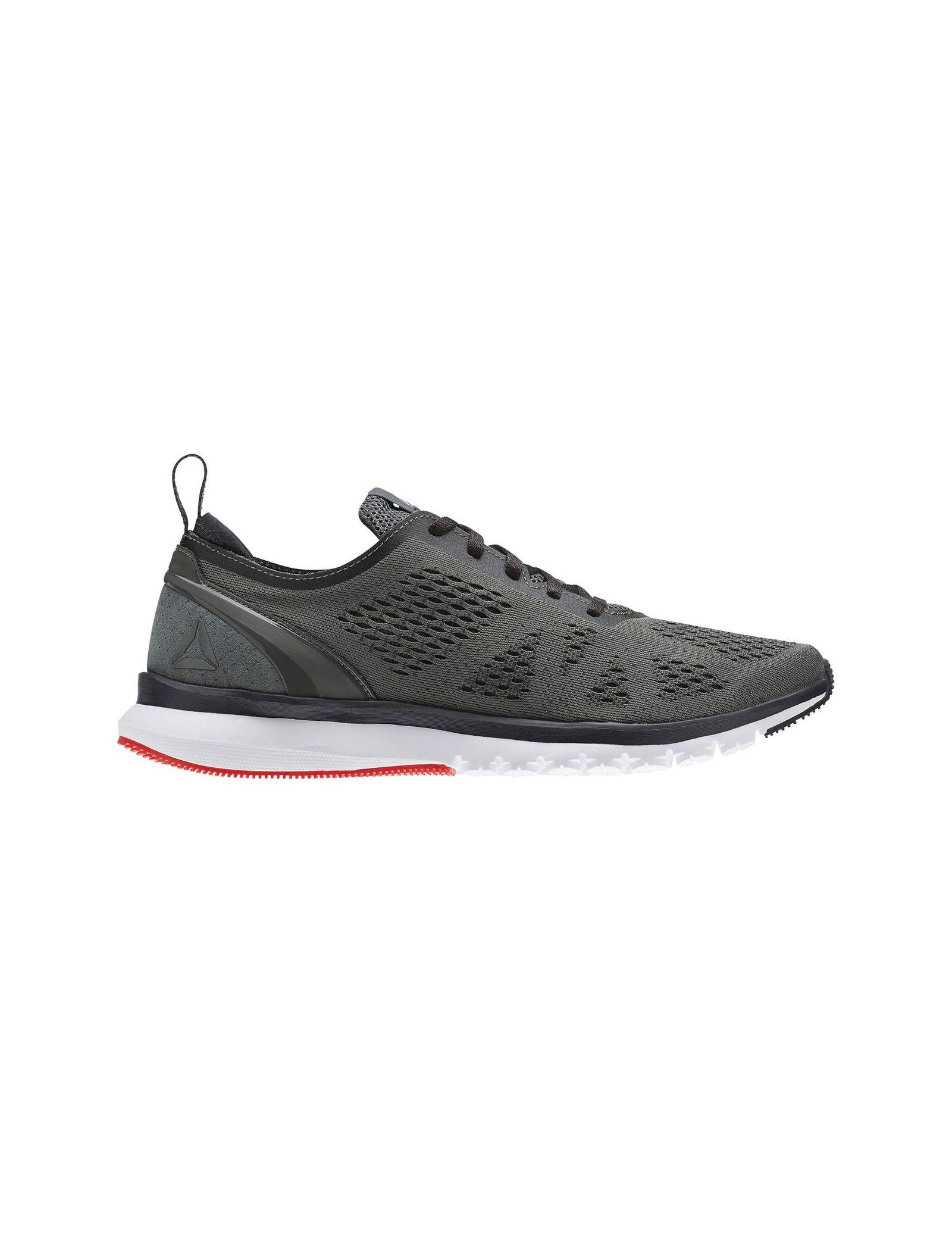 کفش دویدن بندی مردانه Smooth Clip Ultraknit - ریباک - طوسي - 1